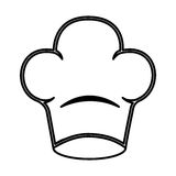 Chef hat isolated icon Stock Photo