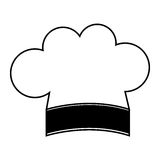 Chef hat isolated icon Stock Photography