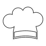 Chef hat isolated icon Royalty Free Stock Photos