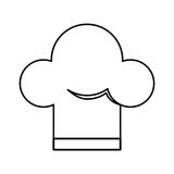 Chef hat isolated icon Stock Photos