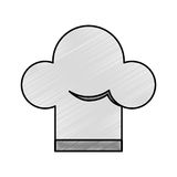 Chef hat isolated icon Royalty Free Stock Photography