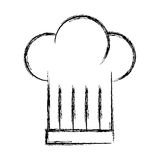 Chef hat isolated icon Stock Images