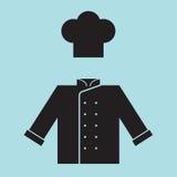 Chef Hat and Shirt Stock Photo