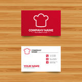 Chef hat sign icon. Cooking symbol. Royalty Free Stock Photography