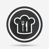 Chef hat sign icon. Cooking symbol. Stock Photo