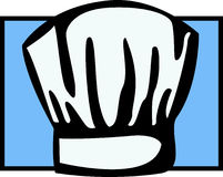 Chef hat. Vector. Illustration of a chef hat. Vector file available in EPS format Royalty Free Stock Photos