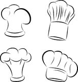 Chef hats Stock Photo