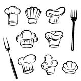 Chef Hats, cook Royalty Free Stock Image