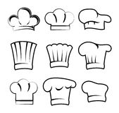 Chef hats Stock Image
