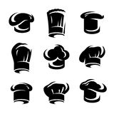 Chef hats set. Vector Stock Photography