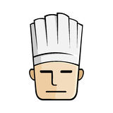 Chef Head Illustration Stock Photo