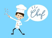 Chef Vector Illustration Design - angry stock illustration
