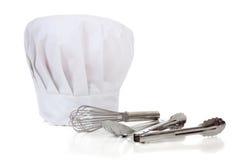 Chef-Hilfsmittel - Küchenbedarf Lizenzfreies Stockbild