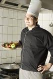 Chef Holding Fruit Royalty Free Stock Photo