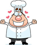 Chef Hug Royalty Free Stock Images