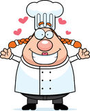 Chef Hug Royalty Free Stock Photography