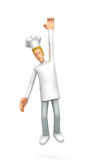 Chef hung Stock Photo