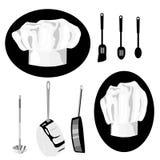 Chef Icon Group Lizenzfreies Stockfoto