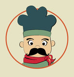 Chef icon Royalty Free Stock Image