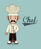 Chef icon Stock Photography