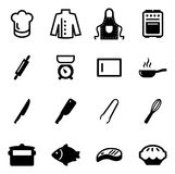 Chef Icons Stock Photos