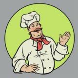 Chef - Illustration Stockfotografie