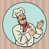 Chef - Illustration Lizenzfreies Stockfoto