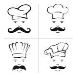Chef illustration stock images