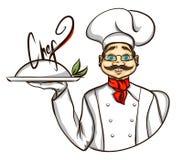 Chef illustration Royalty Free Stock Image