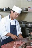 Chef In Butcher Stock Images
