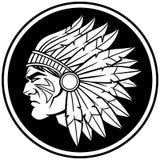 Chef indien Symbol Image stock