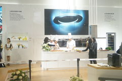 Chef interpretation of kitchen supplies Royalty Free Stock Image