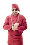 Chef isolated on white Stock Photography