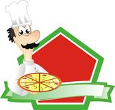 Chef italien Photo stock