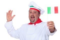 Chef italien Image libre de droits