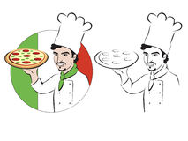 Chef Italy Stock Image