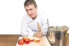 Chef knife Royalty Free Stock Photo