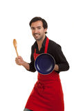 Chef knight Stock Photography
