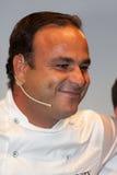 Chef-kok à  ngel Leà ³ n Één ster Michelin Stock Foto's
