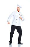 Chef-kok Royalty-vrije Stock Foto