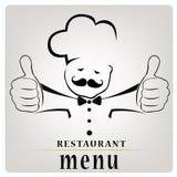 Chef-kok Stock Foto