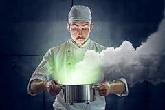 Chef-kok Stock Afbeelding