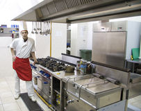 Chef-kok Royalty-vrije Stock Foto
