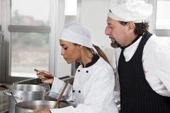 Chef-kok royalty-vrije stock fotografie
