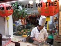 Chef-kok Hard op het Werk Stock Foto