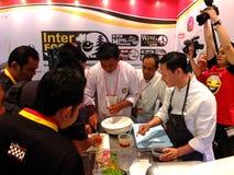 Chef-kok Mandif Warokka Stock Fotografie