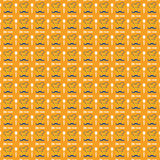 Chef-kok Pattern Background Stock Afbeelding