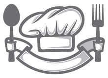 Chef-kokhoed Royalty-vrije Stock Foto's