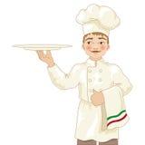 Chef-kokillustratie Royalty-vrije Stock Foto's