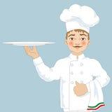 Chef-kokillustratie Royalty-vrije Stock Afbeelding
